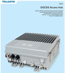 teleste docsis access hub